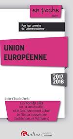 Télécharger le livre :  Union européenne 2017-2018 - 4e édition