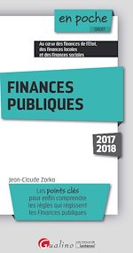 Télécharger cet ebook : Finances publiques 2017-2018 - 4e édition