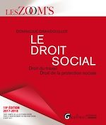 Télécharger le livre :  Le droit social 2017-2018 - 19e édition