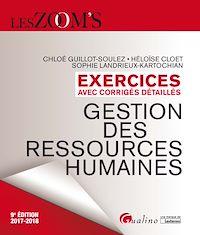 Télécharger le livre : Exercices avec corrigés détaillés - Gestion des ressources humaines 2017-2018 - 9e édition