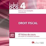 Télécharger le livre :  Les Carrés DCG 4 - Droit fiscal 2017-2018 - 8e édition