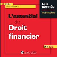 Télécharger le livre : L'essentiel du droit financier
