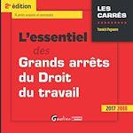 Télécharger le livre :  L'essentiel des Grands arrêts du droit du travail 2017-2018 - 2e édition