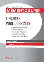 Télécharger le livre :  Mémentos LMD - Finances publiques 2018 - 21e édition