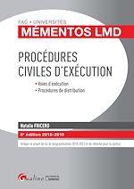 Télécharger le livre :  Procédures civiles d'exécution