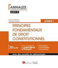 Télécharger le livre : Principes fondamentaux de droit constitutionnel- L1-S1