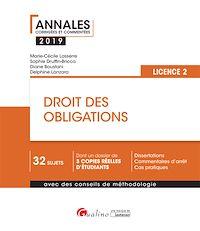 Télécharger le livre : Droit des obligations - L2