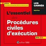 Télécharger le livre :  L'essentiel des procédures civiles d'exécution