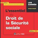 Télécharger le livre :  L'essentiel du droit de la Sécurité sociale 2018 - 17e édition