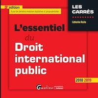Télécharger le livre : L'essentiel du droit international public
