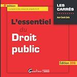 Télécharger le livre :  L'essentiel du droit public 2018 - 4e édition