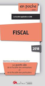 Télécharger le livre :  En poche - Fiscal 2018 - 12e édition