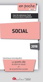 Télécharger le livre :  En poche - Social 2018 - 12e édition