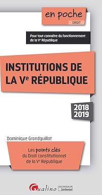 Télécharger le livre : Institutions de la Ve République