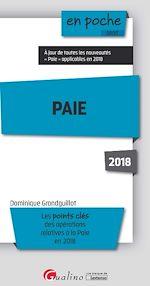 Télécharger le livre :  En poche -Paie 2018 - 8e édition