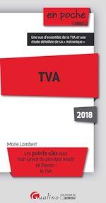 Télécharger le livre :  En poche - TVA 2018 - 5e édition