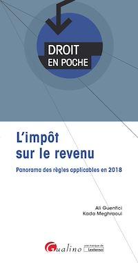 Télécharger le livre : Droit en poche - L'impôt sur le revenu - 2e édition