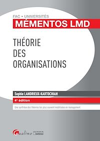 Télécharger le livre : Théorie des organisations