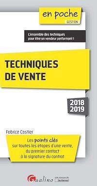 Télécharger le livre : Techniques de vente