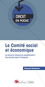 Télécharger le livre :  Le comité social et économique