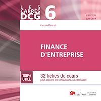 Télécharger le livre : DCG 6 - Finance d'entreprise