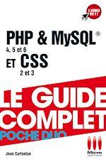 Télécharger cet ebook : PHP & MySQL &  CSS