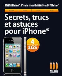 Télécharger le livre : Secrets, trucs et astuces Iphone 4/3GS