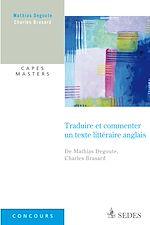 Télécharger le livre :  Traduire et commenter un texte littéraire anglais