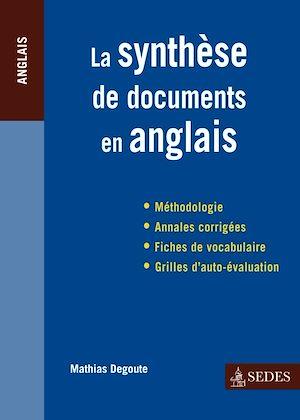 Téléchargez le livre :  La synthèse de documents en anglais