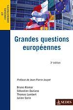 Télécharger le livre :  Grandes questions européennes