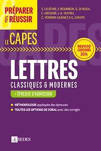 Télécharger le livre : Préparer et réussir le CAPES de Lettres classiques et modernes - Épreuve d'admission