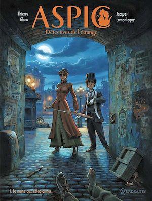 Téléchargez le livre :  Aspic, détectives de l'étrange T01