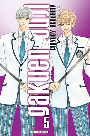 Téléchargez le livre :  Gakuen Ouji - Playboy Academy T05