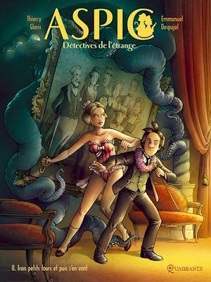 Téléchargez le livre :  Aspic, détectives de l'étrange T08
