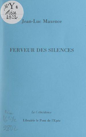 Téléchargez le livre :  Ferveur des silences
