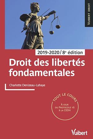 Téléchargez le livre :  Droit des libertés fondamentales 2019/2020