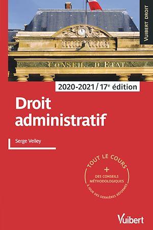 Téléchargez le livre :  Droit administratif 2020/2021
