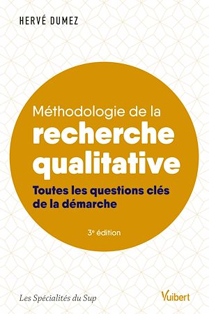 Téléchargez le livre :  Méthodologie de la recherche qualitative