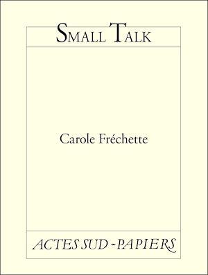 Téléchargez le livre :  Small Talk