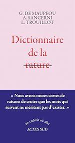 Télécharger le livre :  Dictionnaire de la rature
