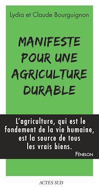 Télécharger le livre : Manifeste pour une agriculture durable