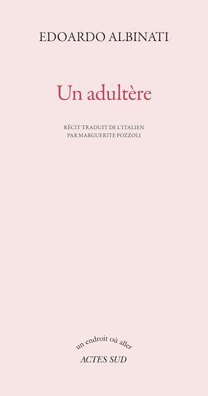 Téléchargez le livre :  Un adultère