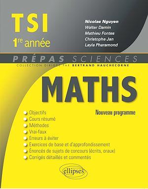 Téléchargez le livre :  Mathématiques TSI-1 programme 2013