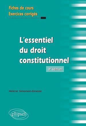 Téléchargez le livre :  L'essentiel du droit constitutionnel - 3e édition