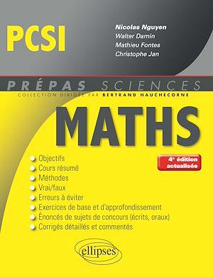 Téléchargez le livre :  Mathématiques PCSI - 4e édition actualisée