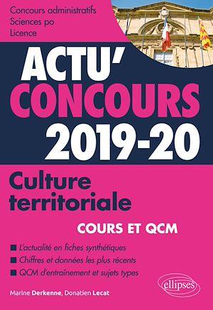 Téléchargez le livre :  Culture territoriale - concours 2019-2020