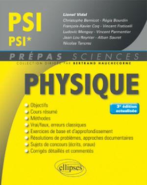 Téléchargez le livre :  Physique PSI/PSI* - 3e édition actualisée