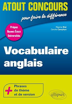 Téléchargez le livre :  Vocabulaire anglais