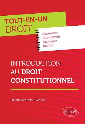 Téléchargez le livre :  Introduction au Droit constitutionnel