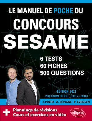 Téléchargez le livre :  Le Manuel de POCHE du concours SESAME (écrits + oraux) Edition 2021 - 60 fiches, 60 vidéos de cours, 6 tests, 500 questions + corrigés en vidéo